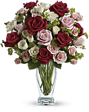 Cupid's Creation with Red Roses by Teleflora Flowers