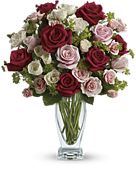 Cupid S Creation With Red Roses By Teleflora Bouquet