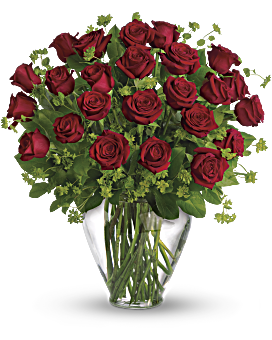 Indulge your perfect love with this extravagant bouquet. Two dozen red roses express your love in a way words never could. My Perfect Love - Long Stemmed Red Roses - Flower Delivery By Teleflora