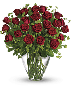 My Perfect Love - Long Stemmed Red Roses Bouquet