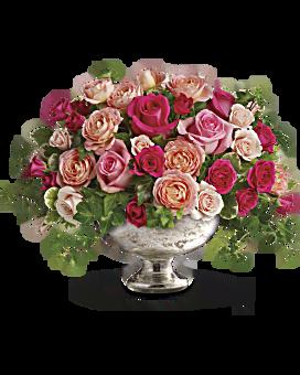 Queen's Court by Teleflora Flower Arrangement