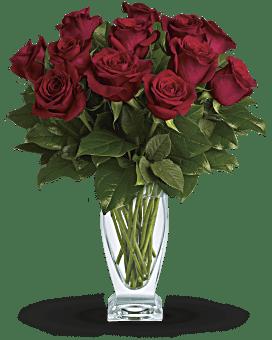 Rose classique – Une douzaine de roses rouges de Teleflora