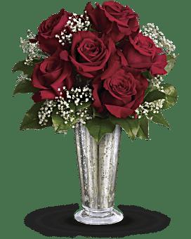 Bouquet Baiser de la rose de Teleflora