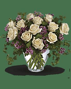 Bouquet floral Romance victorienne