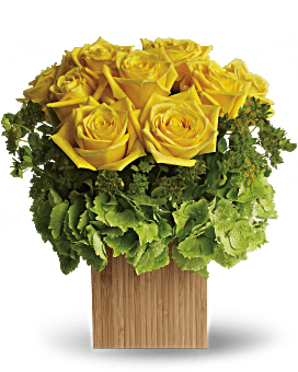 Teleflora's Box of Sunshine Flower Arrangement