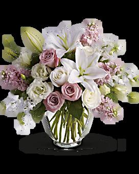 White flowers in beautiful arrangements teleflora quick view isnt it romantic bouquet mightylinksfo
