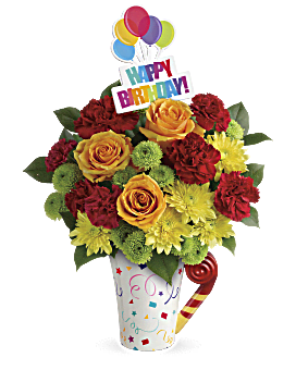 Quick view Teleflora's Fun 'n Festive Bouquet Bouquet