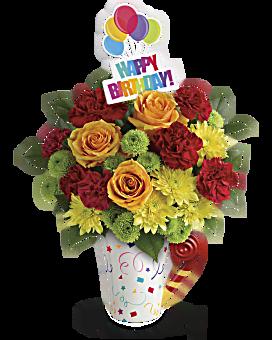 Bouquet Festif et amusant de Teleflora