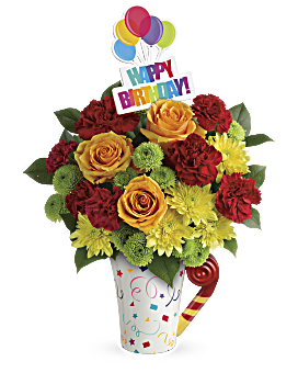 Quick View Teleflora S Fun N Festive Bouquet
