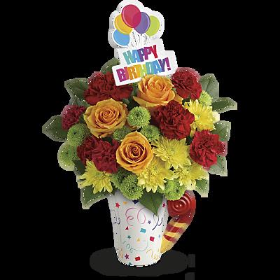 Telefloras Fun N Festive Bouquet