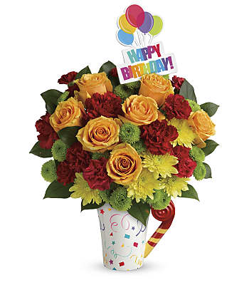 Teleflora's Fun 'n Festive Bouquet Flowers