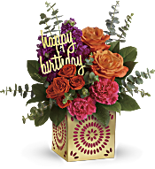 Teleflora's Birthday Sparkle Bouquet Flowers