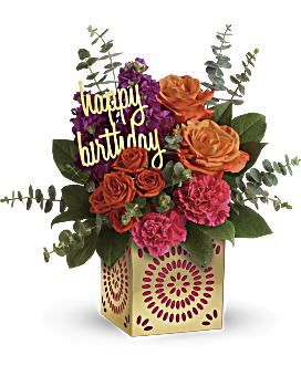 Quick View Teleflora S Birthday Sparkle Bouquet