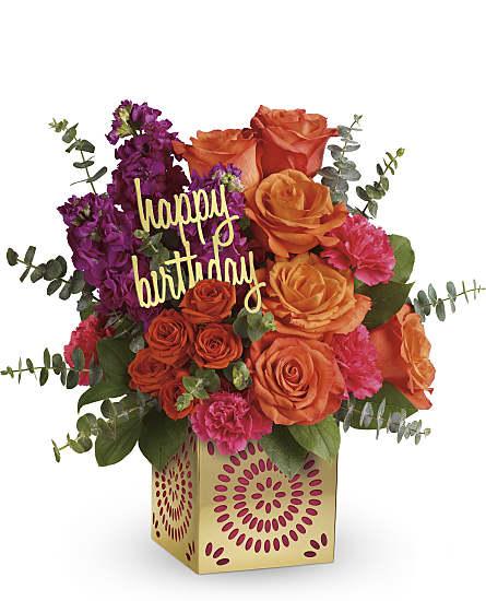 Birthday Sparkle Bouquet Flowers