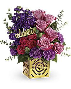 Teleflora's Thrilled for You bouquet.