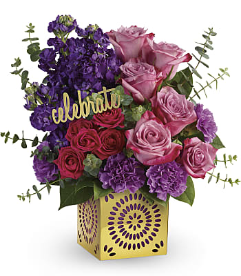 Teleflora's Thrilled For You Bouquet Flowers