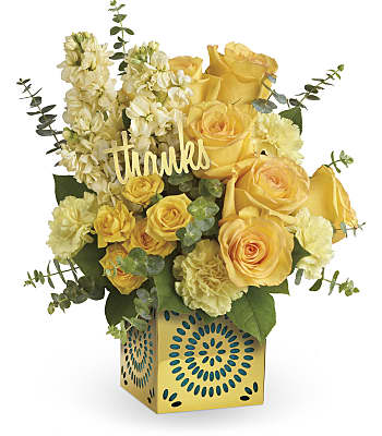 Shimmer Of Thanks Bouquet Flowers