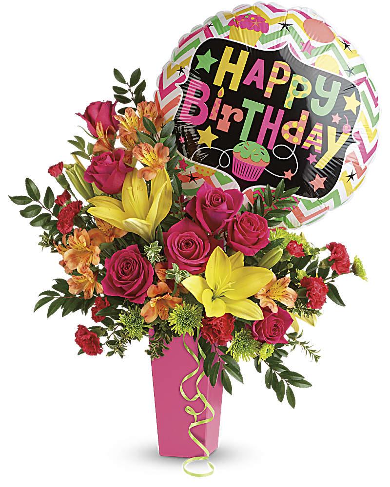 Birthday Bash Bouquet Teleflora