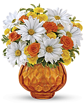 Bouquet Le soleil se lève de Teleflora