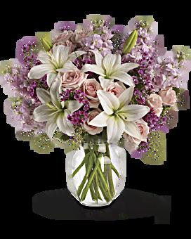 Teleflora's Blossoming Romance Bouquet