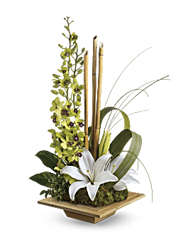 Arrangement floral Oasis Secret de Teleflora