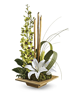 Teleflora S Secret Oasis Flower Arrangement Teleflora