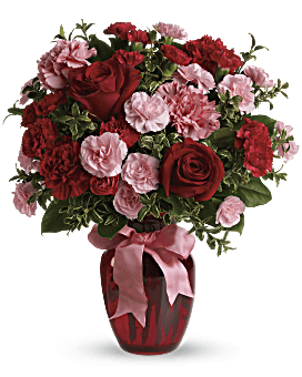 Dance with Me Bouquet with Red Roses Bouquet