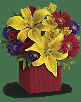 Bouquet de fleurs Lumières estivales de Teleflora