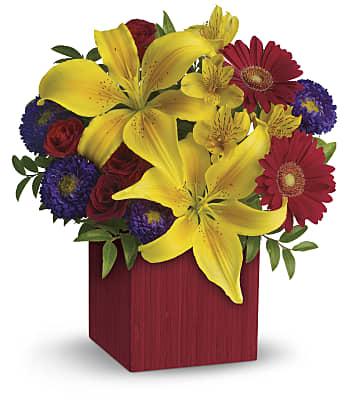 Teleflora's Summer Brights Flowers