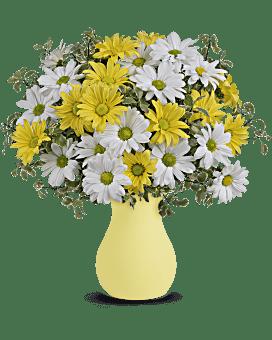 Bouquet Marguerites ensoleillées de Teleflora