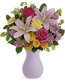 Teleflora's Perfectly Pastel Bouquet