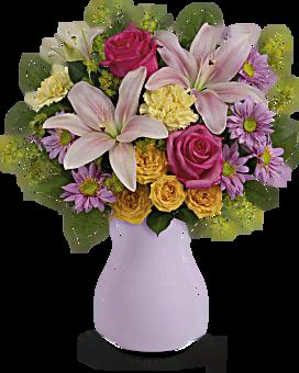 Bouquet Parfaitement pastelle de Teleflora