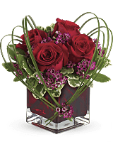 Teleflora's Sweet Thoughts Bouquet w/ Red Roses