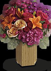 Teleflora's Fuchsia Fantasy Flowers