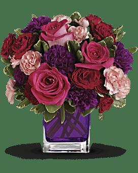 Un bouquet de beauté paré de bijoux par Teleflora