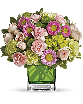 May Emerald Bouquets - Make Her Day By Teleflora - Green - Flower Delivery