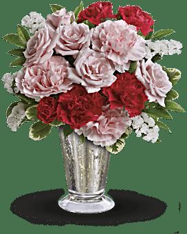 Bouquet Tout doux par Teleflora