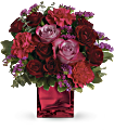 Teleflora's Ruby Rapture Bouquet Flowers