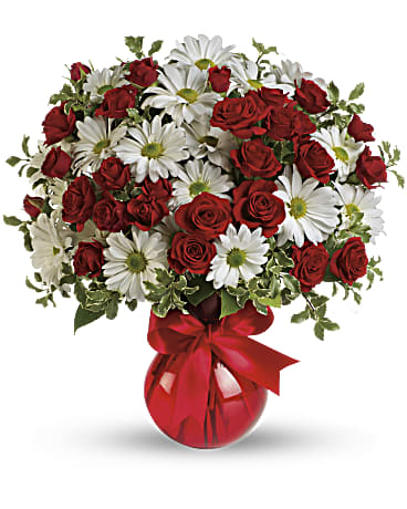 Red white and you bouquet by teleflora teleflora red white and you bouquet by teleflora bouquet mightylinksfo