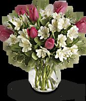 Spring Romance Bouquet Flowers