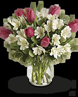 Bouquet Romance du printemps