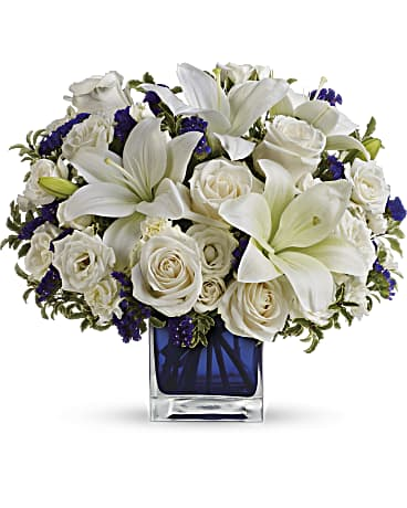 Order Teleflora's Sapphire Skies bouquet this Father's Day