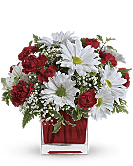 Quick view Red And White Delight by Teleflora Bouquet