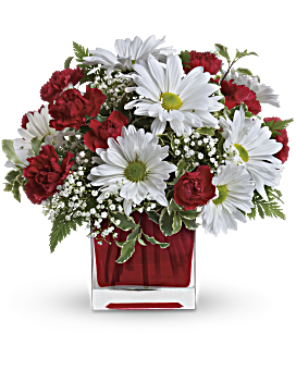 Red white and you bouquet by teleflora teleflora red and white delight by teleflora bouquet mightylinksfo Gallery