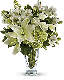 Teleflora's Purest Love Bouquet Bouquet