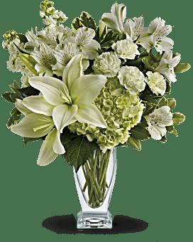 Bouquet Amour le plus pur de Teleflora