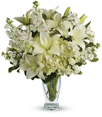Teleflora's Purest Love Bouquet Flowers