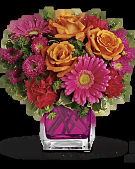 Bouquet Accentuer le rose de Teleflora
