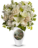Thomas Kinkade Radiant Garden Bouquet