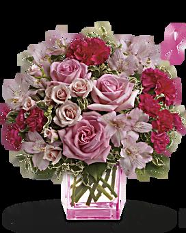 Teleflora's Pink Grace Bouquet Bouquet